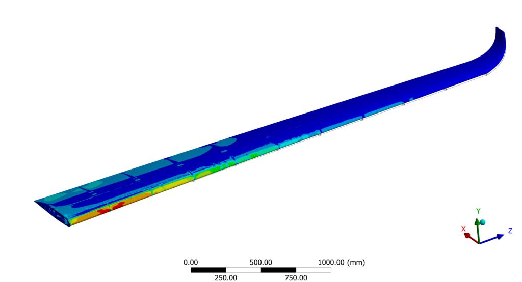 Bureau d'études mécanique et simulation numérique - Aéronautique - Aile