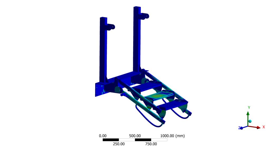 Bureau d'études mécanique et simulation numérique - Naval - Structure ladder